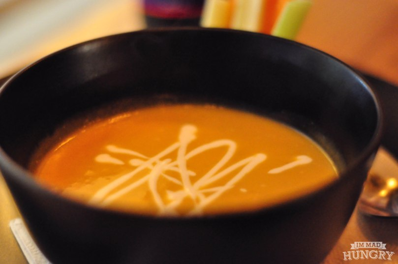 Curried Butternut Squash Soup | $5