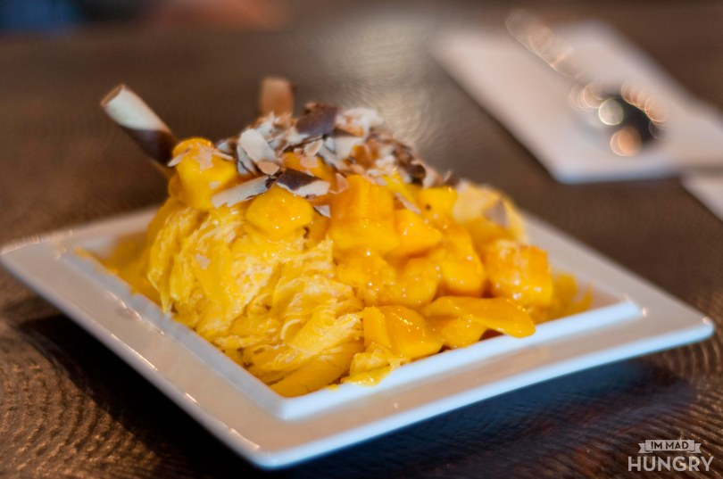 Mango Shaved Ice Cream