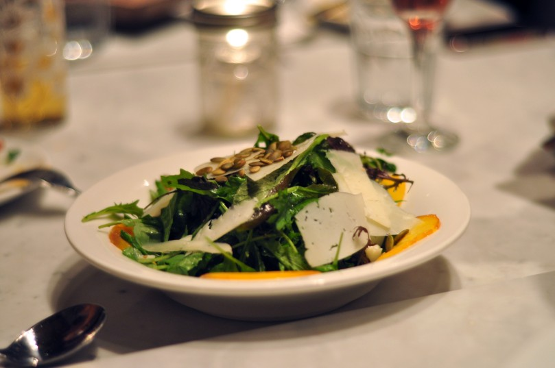 Ontario Peach & Manchego Cheese Salad