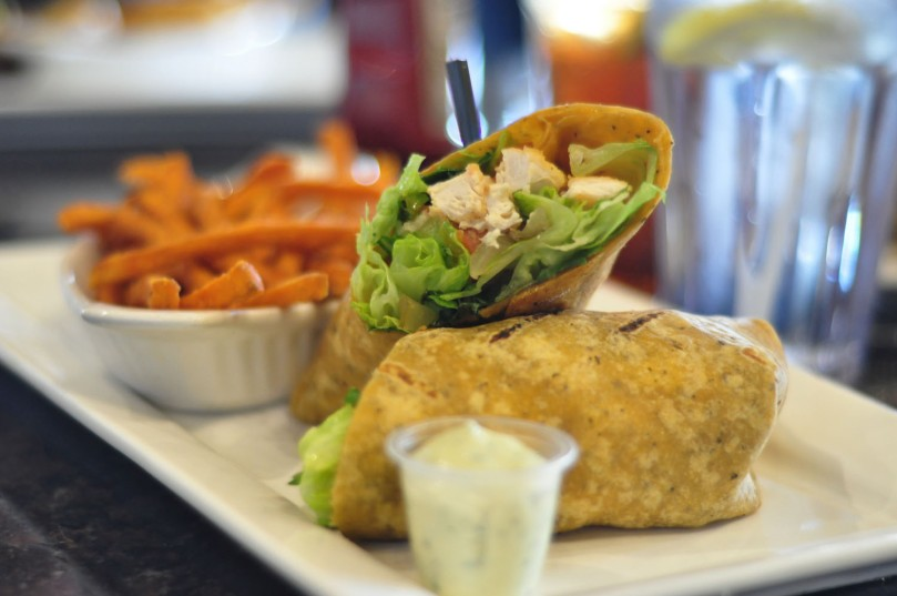 Crispy Chicken Wrap  |  $12.25