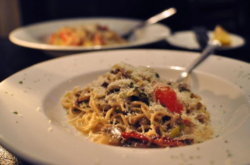 Pollo Tuscany Spaghetti  |  $18.95