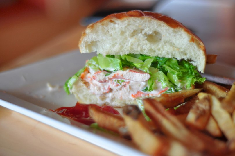 Gord's Lobster Knuckle Sandwich | $15.95