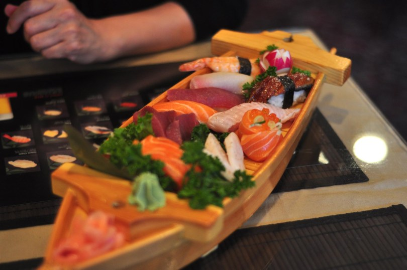 Sushi and Sashimi Dinner | $23