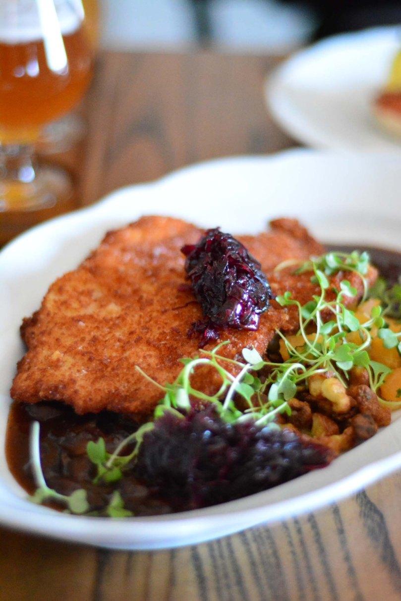 Pork Schnitzel  |  $20