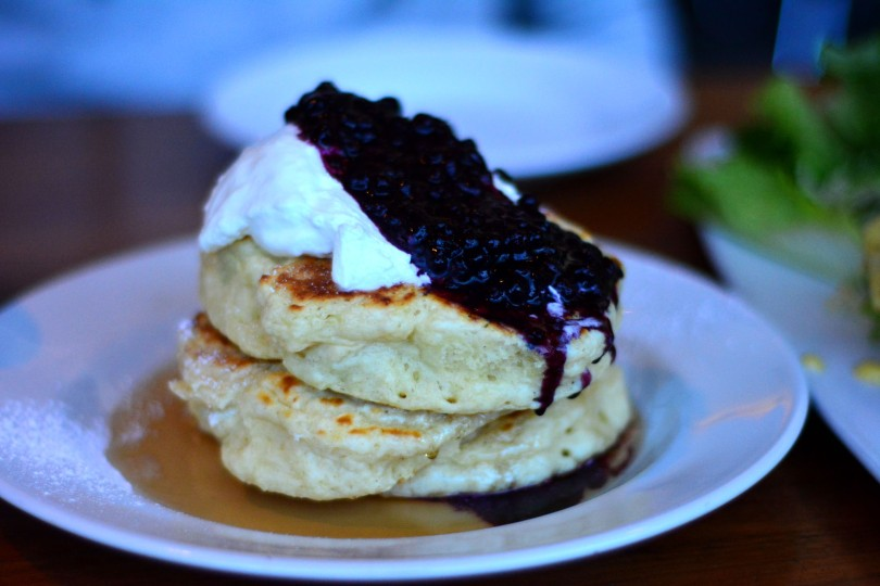 Mrs. Biederhof's Legendary Light & Fluffy Blueberry Buttermilk Pancakes | $16