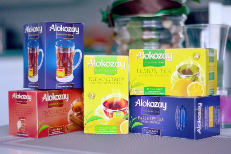 Poached Tilapia with Alokozay Tea #TEAdays
