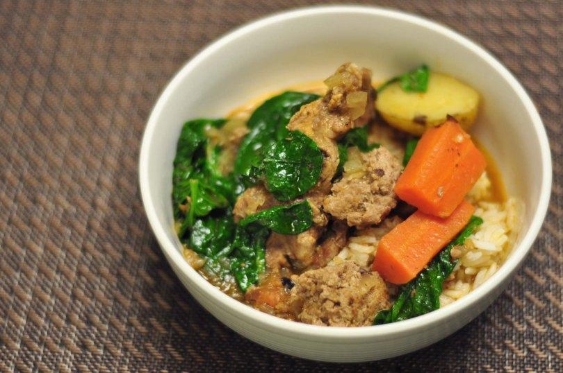 Meaty Stew Recipe