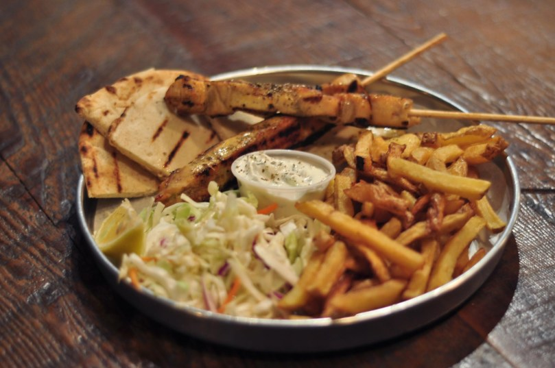 Chicken Souvlaki | $12