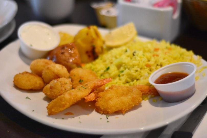 Shrimp Dinner | $14