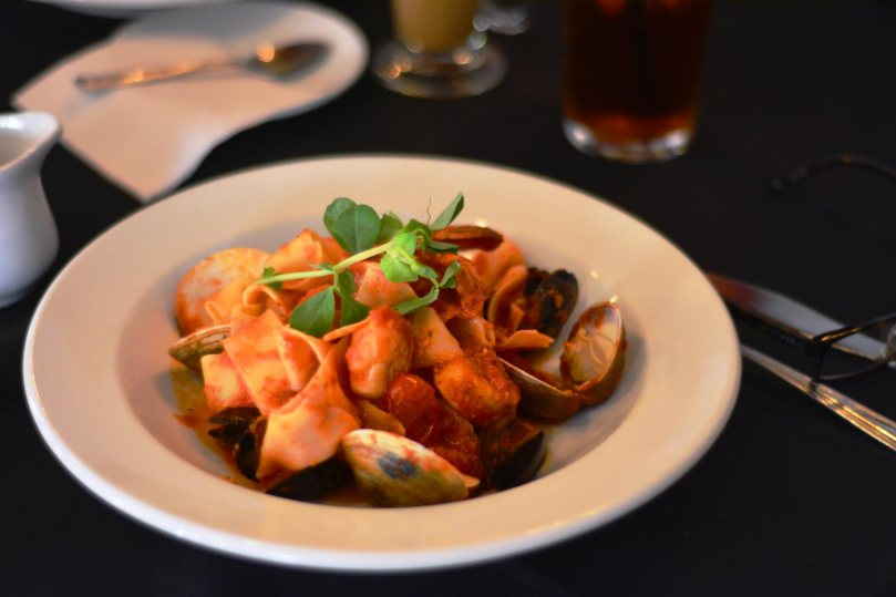 Seafood Pappardelle | $20