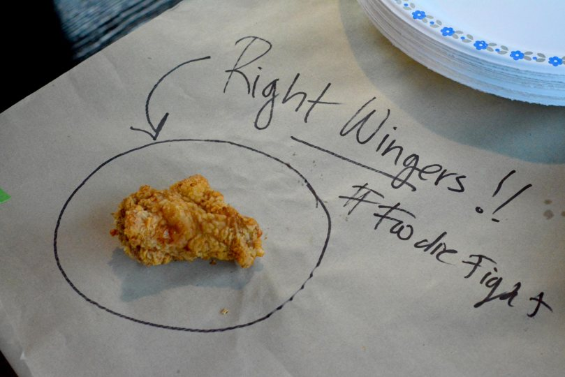 Foodie Fight Wing Winner  |  Right Wingers