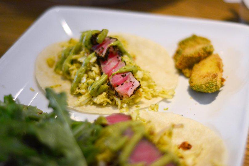 Ahi Tuna Tacos | $16