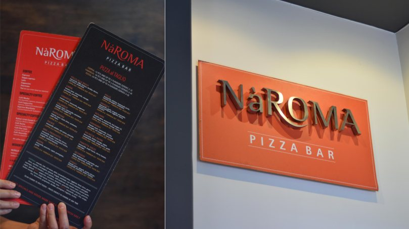 NaRoma Pizza Menu