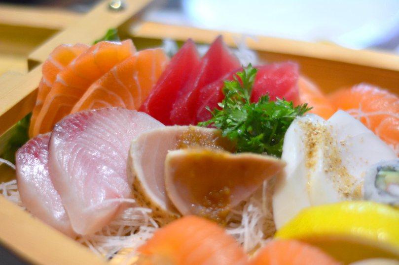 Sushi and Sashimi Platter | $36