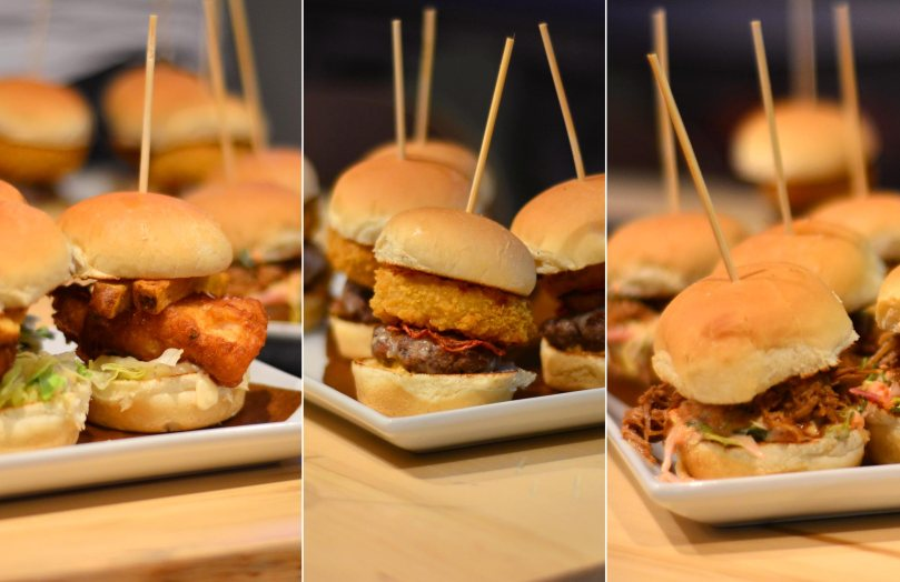 Fish & Chip $ $12 | Ultimate Serve Slider $13 | Hogtown $13