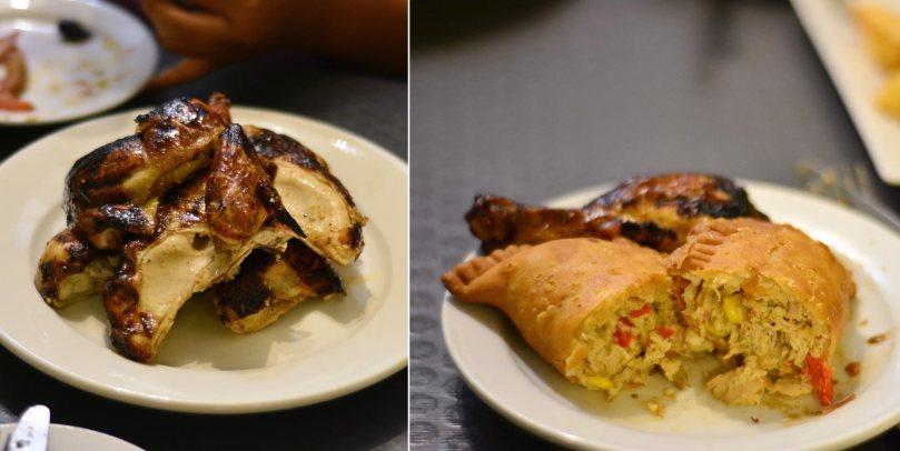 Pollo a la Brasa $24.95 | Pollo Empanada $4.25