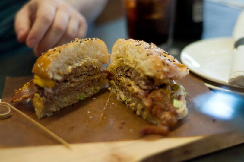 HAMBRGR #HamOnt Burger $13