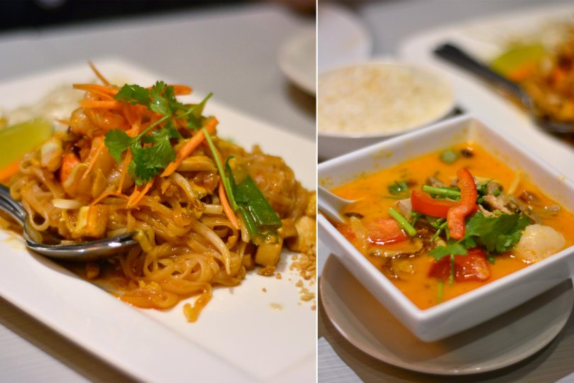 Pad Thai and Duck Curry