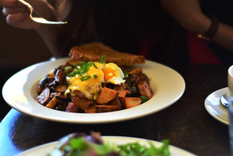 Montreal Smoked Brisket Hash $14