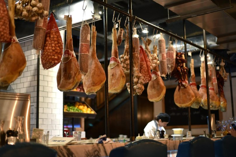 Hanging Cured Meats