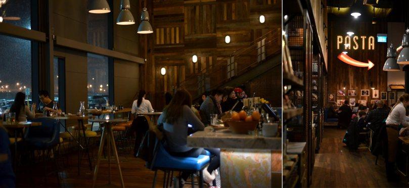 Jamie's Italian Interior - Bar