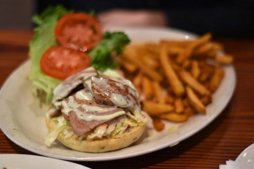 Seared Ahi Tuna Burger | $14.99