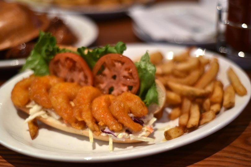 Shrimp Po-Boy Hogie | $13