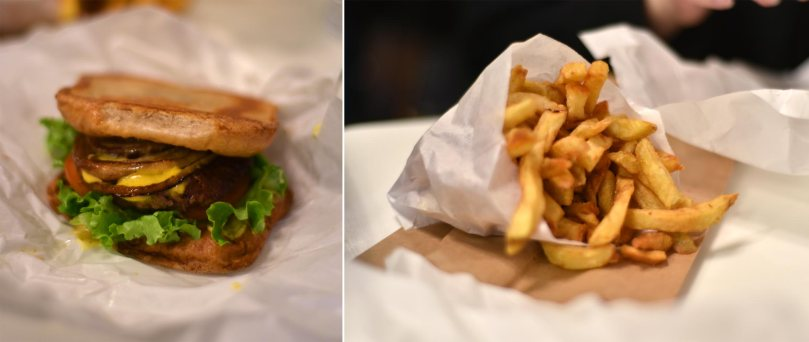 California Burger and Fries $7.39 | Fries $3.69