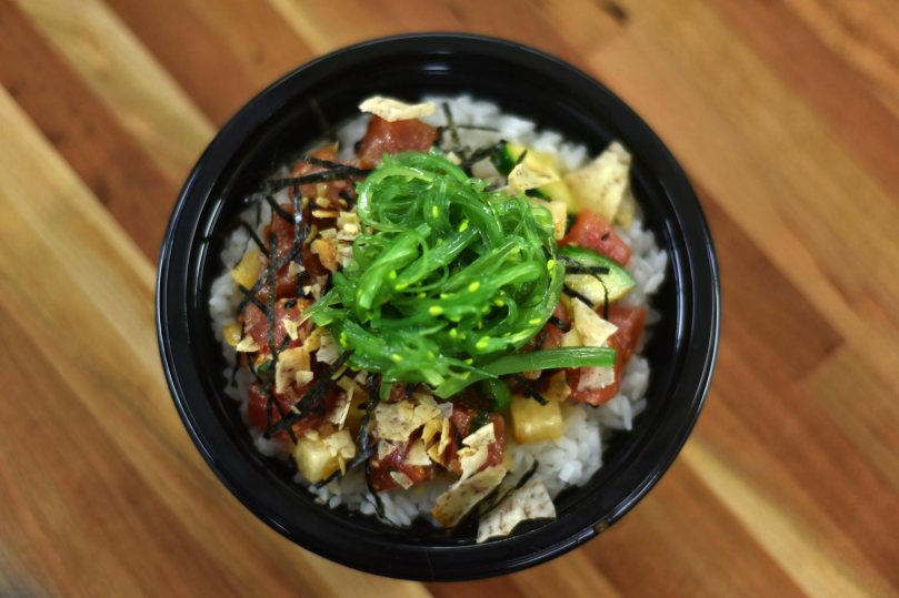 Small Classic Tuna Pokeh Bowl $10