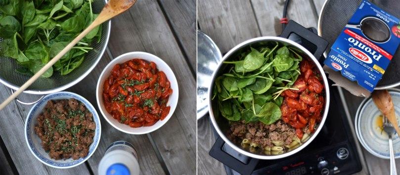Roasted Tomato & Italian Sausage Penne