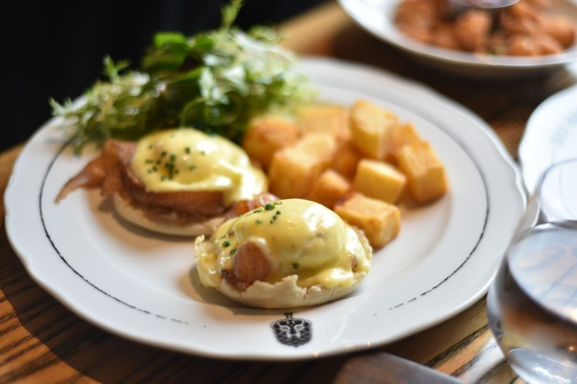 Brux House | Smoked Salmon Eggs Benny