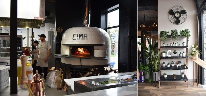 CIMA Enoteca Pizza Oven