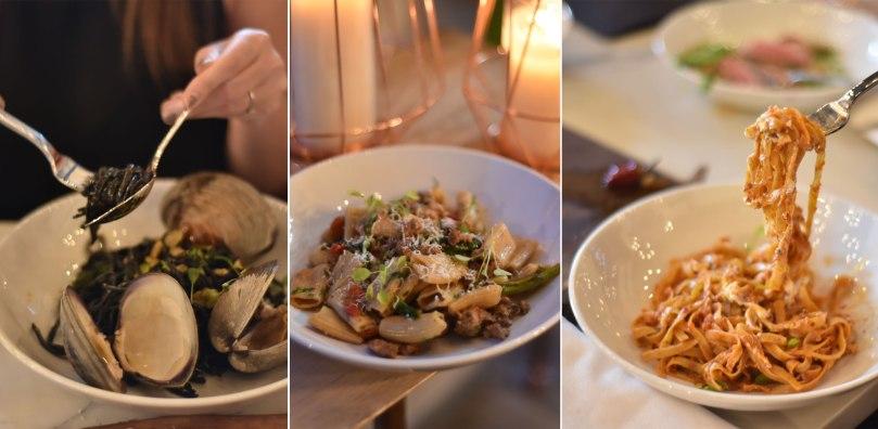 Squid Ink Pasta | Rigatoni | Tagliatelle