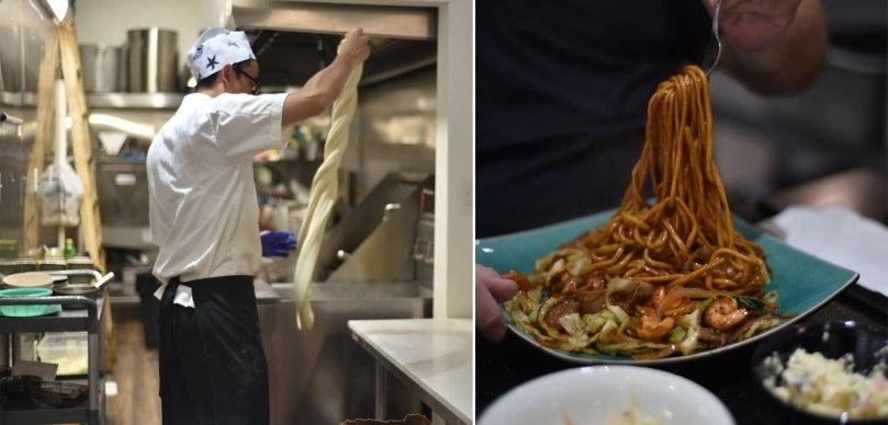 Pulling Noodles | Seafood Friar
