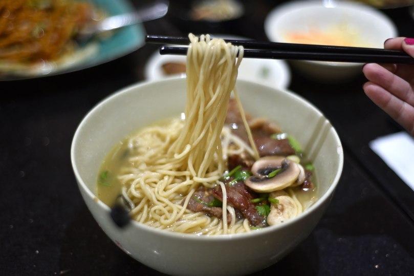 Beef Short Rib Noodle Soup