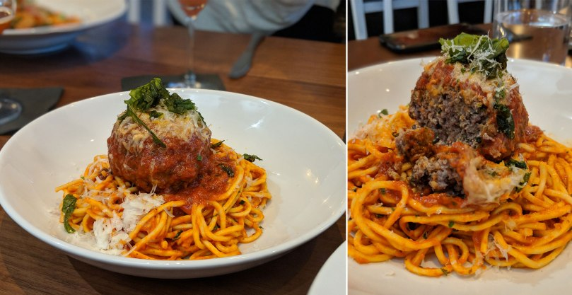 Spaghetti and Meatball $15