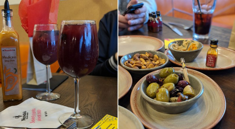 Sangria and Apps