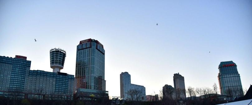 Niagara cityscape